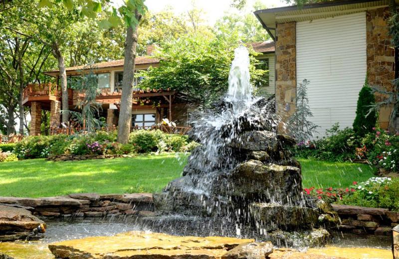 Fountain view at Dream Catcher Point Resort.