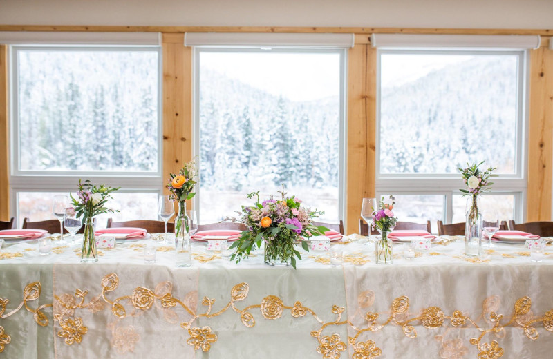 Weddings at Lodge by the Blue.