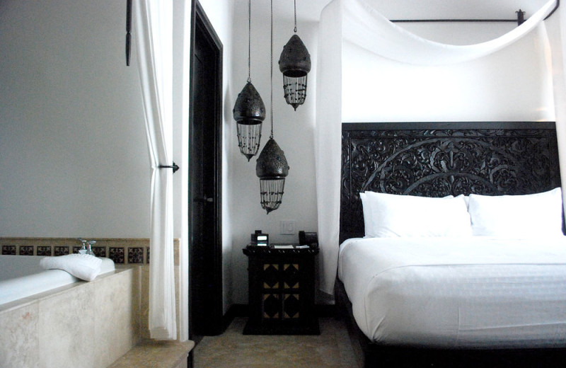Guest room at Cabo Azul Resort & Spa.