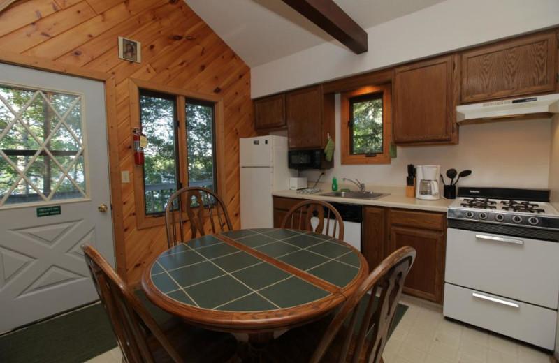 Cabin Interior at Glenmore Resort