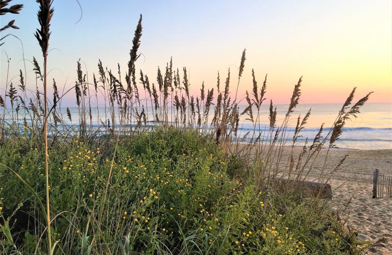 Beach at Joe Lamb Jr. & Associates Vacation Rentals.