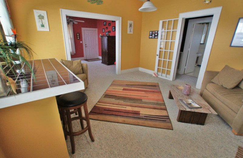 Vacation rental interior at Ryson Vacation Rentals.
