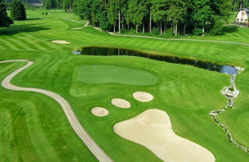 Golf course near Harrison Beach Hotel.