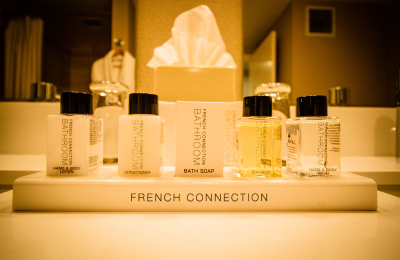 Amenities at The Grand Hotel.