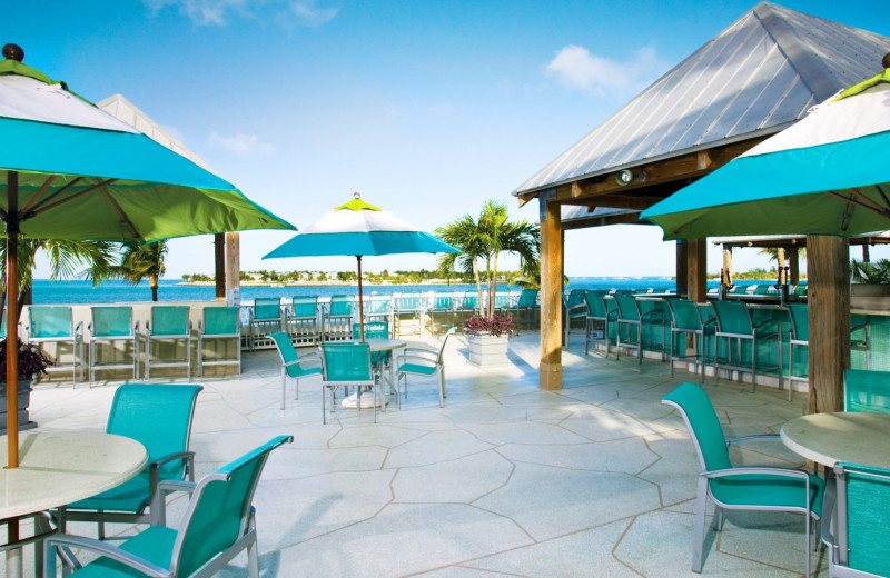 Outdoor patio at The Westin Key West Resort.