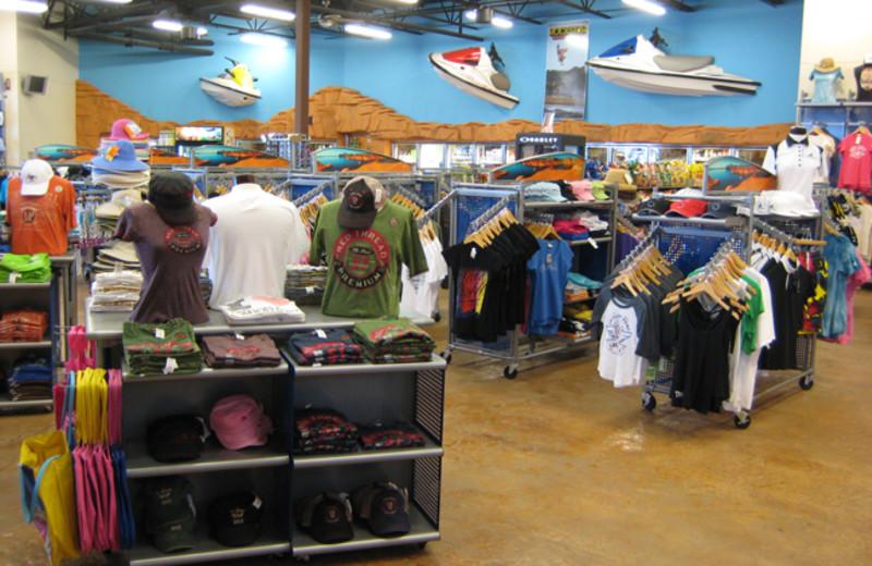 Shopping at Antelope Point.