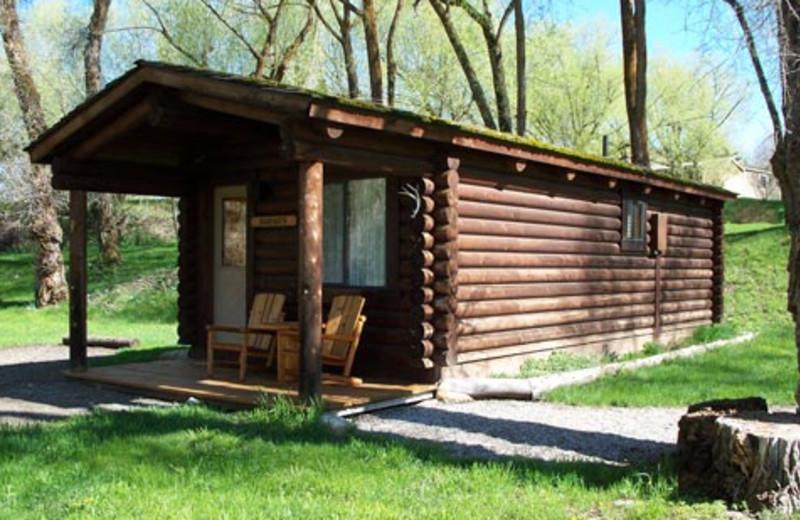 Guest cabin at The Lodge at Palisades Creek.