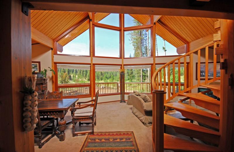 Suite interior at Bear Creek Lodge.