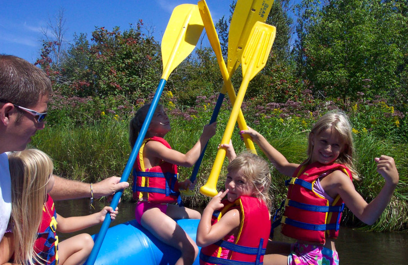 Group at Big Bear Adventures.
