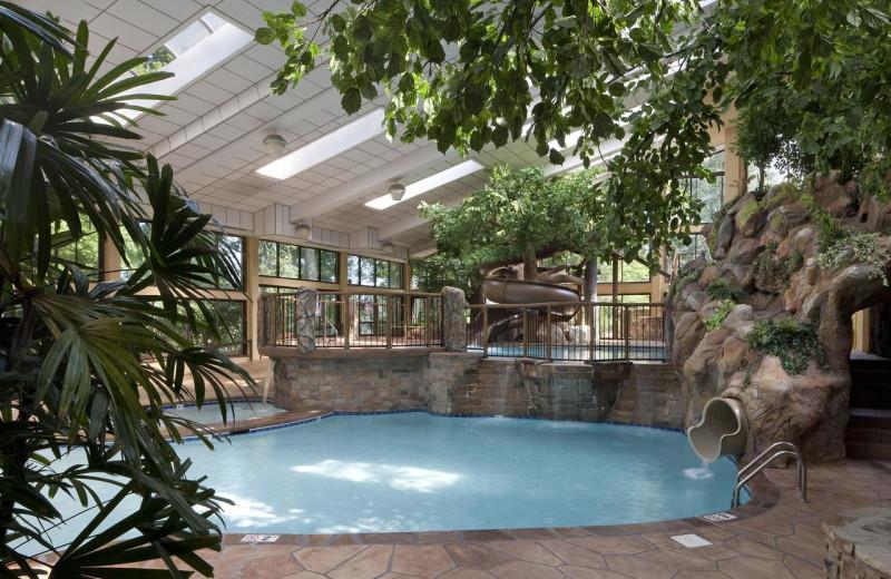 Hotel pool for Davidson Hotel Company.