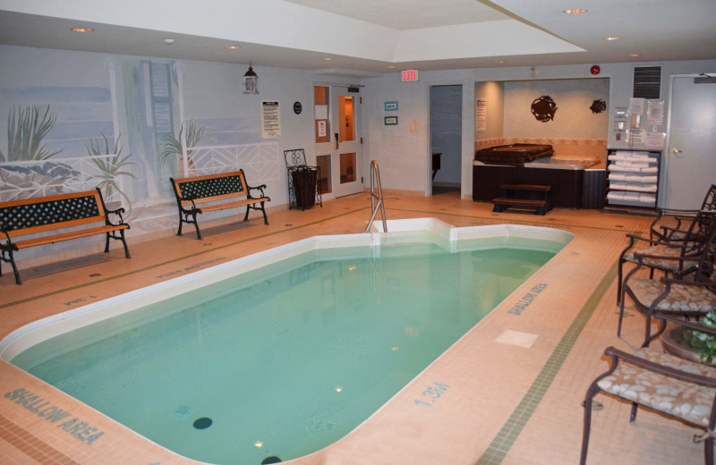 Indoor pool at Stone Gate Inn.
