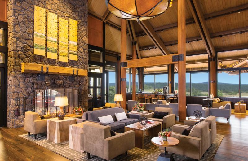 Lobby at Sunriver Resort's Main Lodge