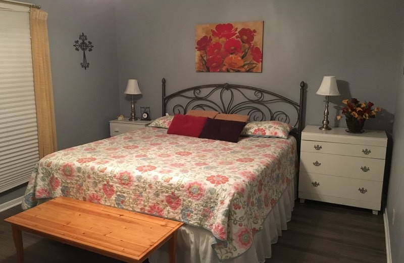 Rental bedroom at Frio Family Getaway
