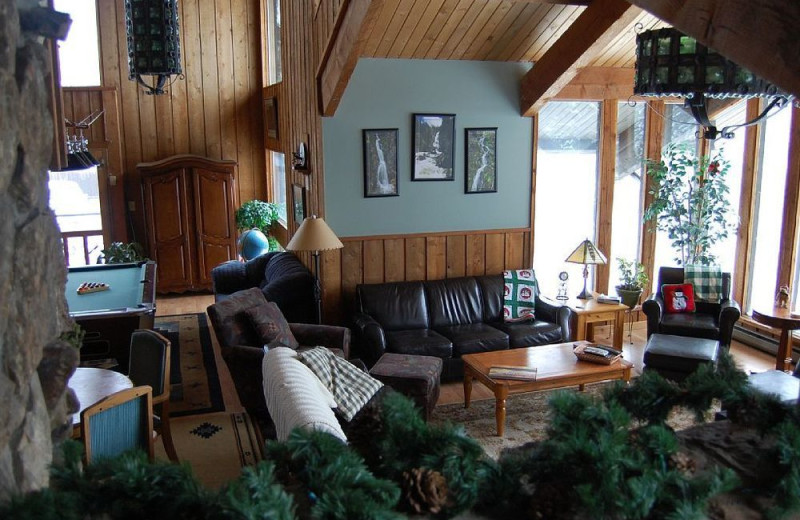 Lounge at Aspen View Lodge.