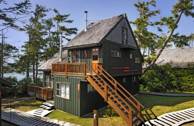 Triplex cabin at Middle Beach Lodge.