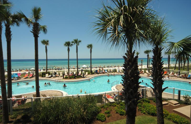 Outdoor pool at Grand Panama Beach Resort.