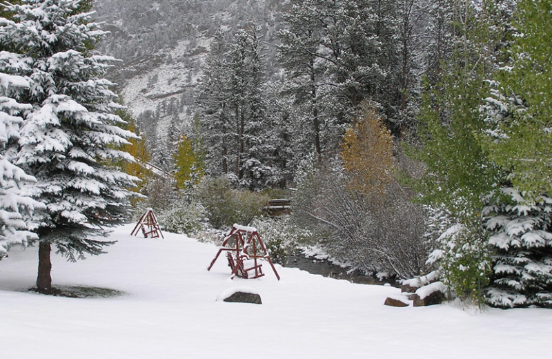 Winter time at Aspen Winds.