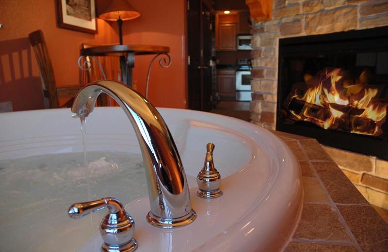 Guest hot tub at Chula Vista Resort.