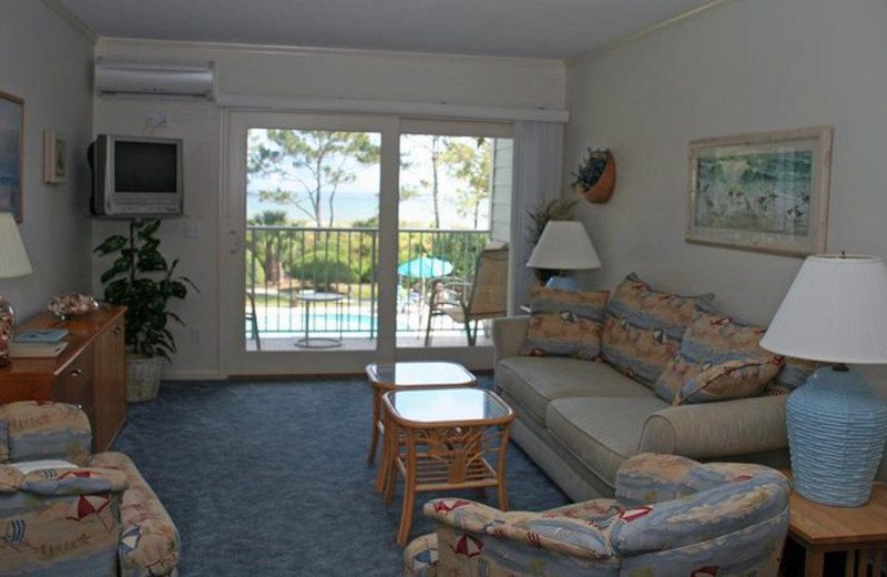 Beach Front Villas at Vacation Time