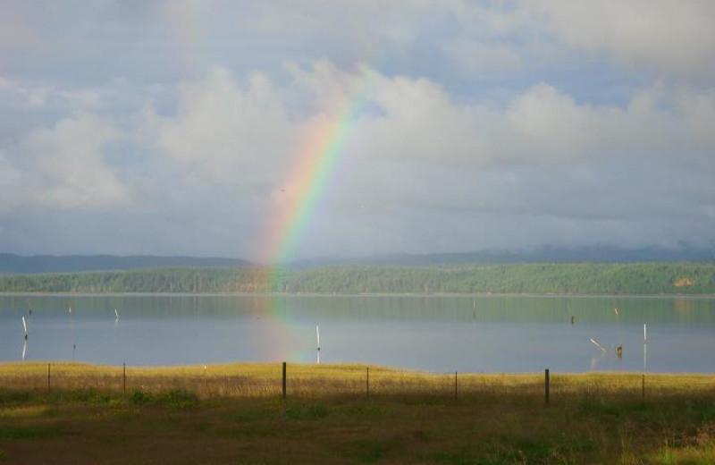 Rainbow at Oceanfront Getaways.