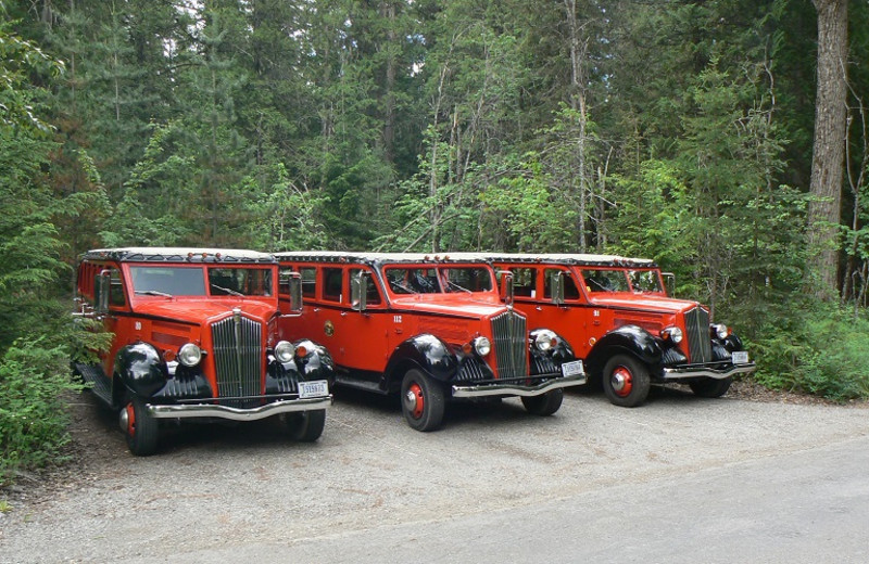 Cars at Smoky Bear Ranch.