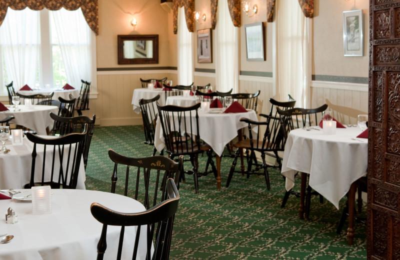 Dining at Eagles Mere Inn.