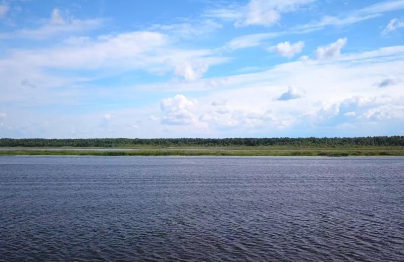Lake view at Adrian's Resort.