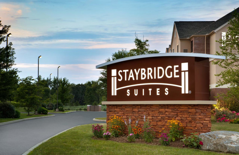 Exterior view of Staybridge Suites - Stow.