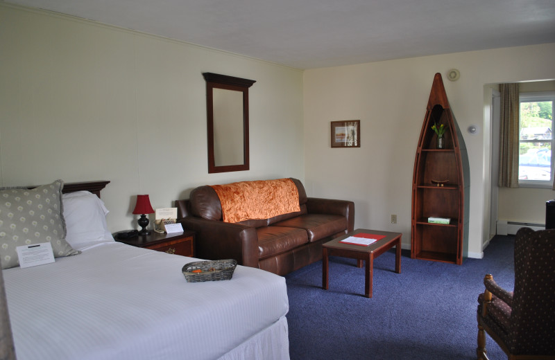 Guest room at Gauthier's Saranac Lake Inn.