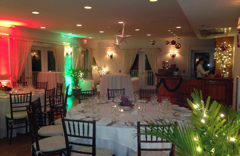 Dining room The Rhinecliff Hotel.