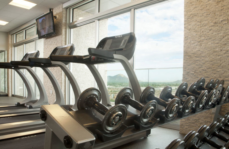 State of the art fitness center at Talking Stick Resort