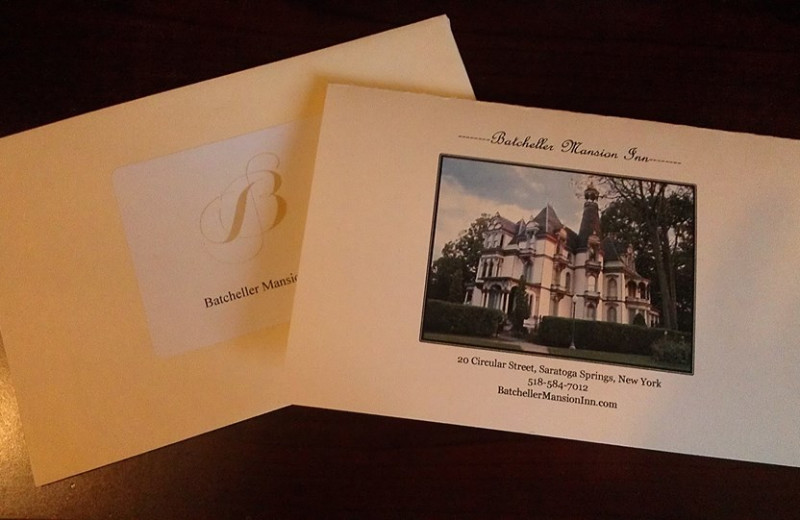 Batcheller Mansion Inn Bed and Breakfast cards.