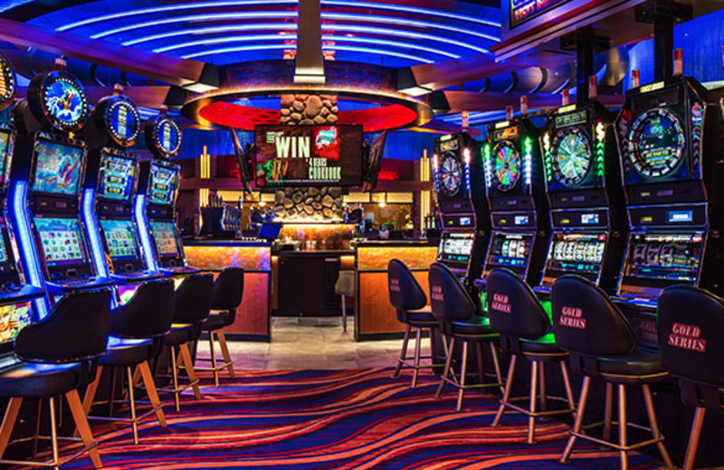 Casino at Four Bears Casino & Lodge.