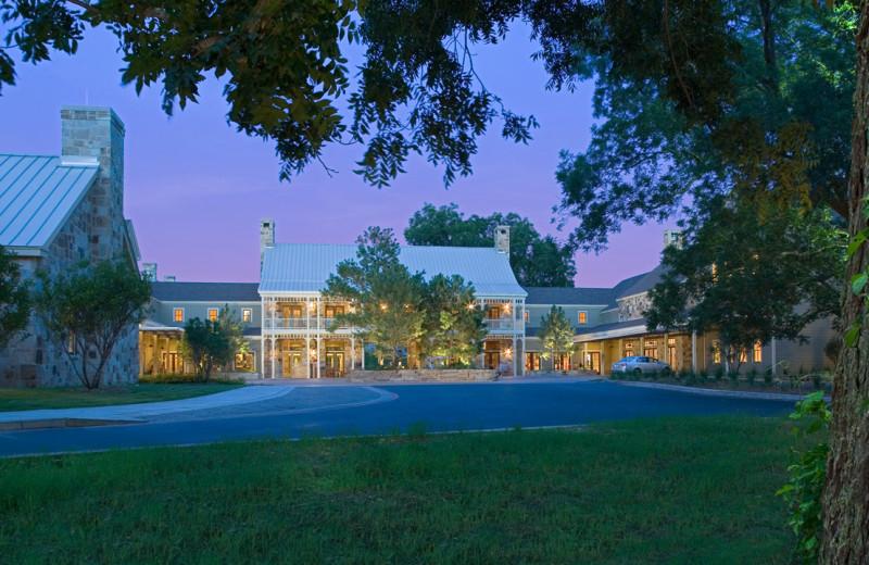 Exterior view of Hyatt Regency Lost Pines Resort and Spa.