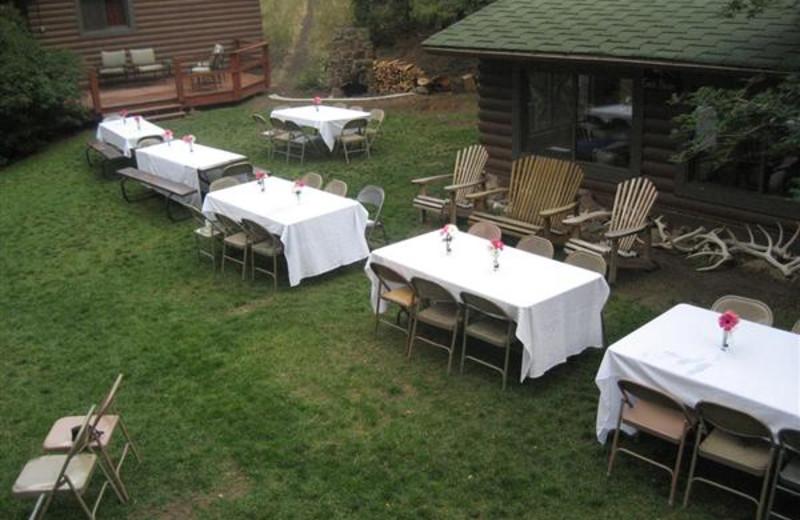 Outdoor Reception at Bill Cody Ranch