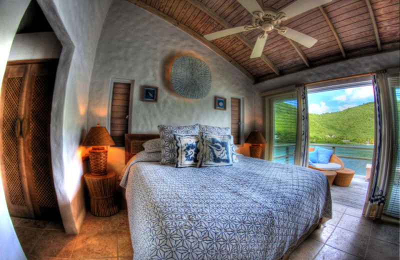 Guest room at Frenchman's Cay.