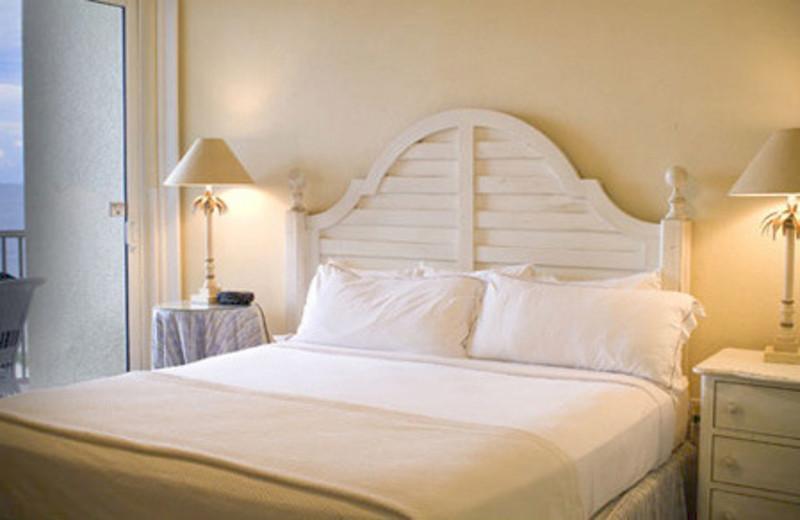 Guest room at Pink Shell Beach Resort & Marina.
