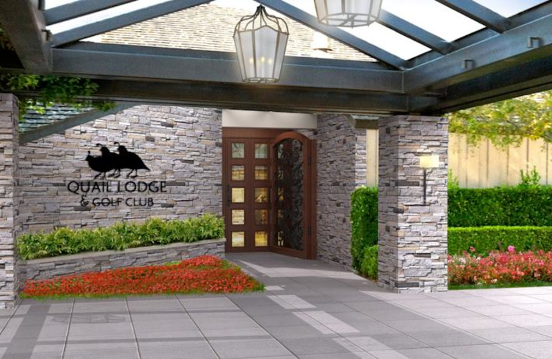 Welcome to Quail Lodge Resort.