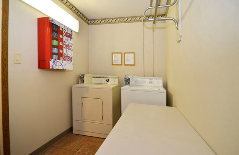 Laundry Area at Comfort Inn West
