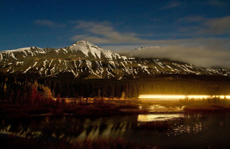 Scenic view near East Glacier Motel & Cabins.