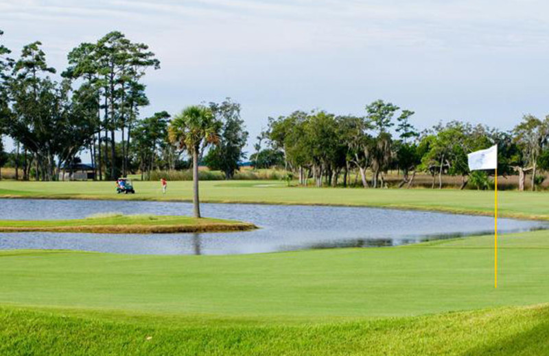 Golf course at The King and Prince Beach Resort.