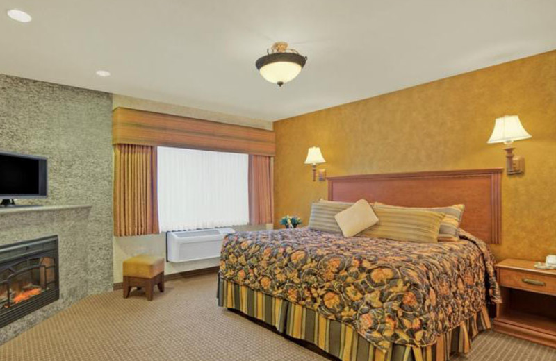 King Suite at Rushmore Express Inn & Family Suites.