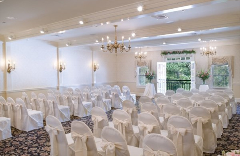 Wedding reception at The Green Mountain Inn.