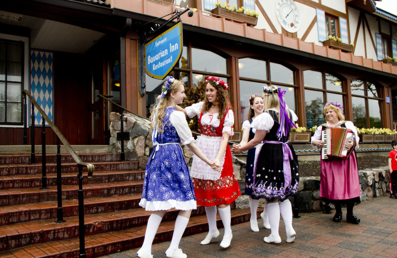 Entertainment at Bavarian Inn of Frankenmuth.