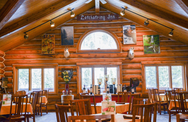 Dining at Spearfish Canyon Lodge.