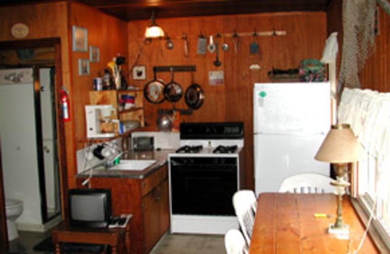 Kitchen View at Cedar Ridge Resort