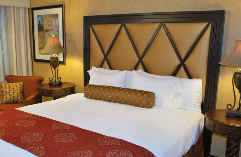 Guest room at Roman Spa Hot Springs Resort.