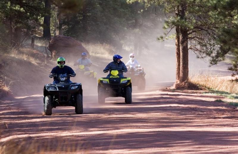 ATV at Grand Timber Lodge.