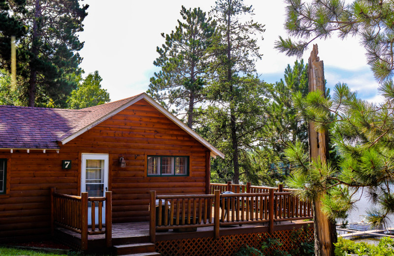 Cabin exterior at Wilderness Resort Villas.