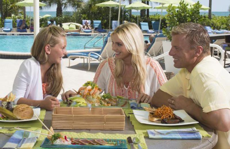 Family Dinner at Longboat Key Club